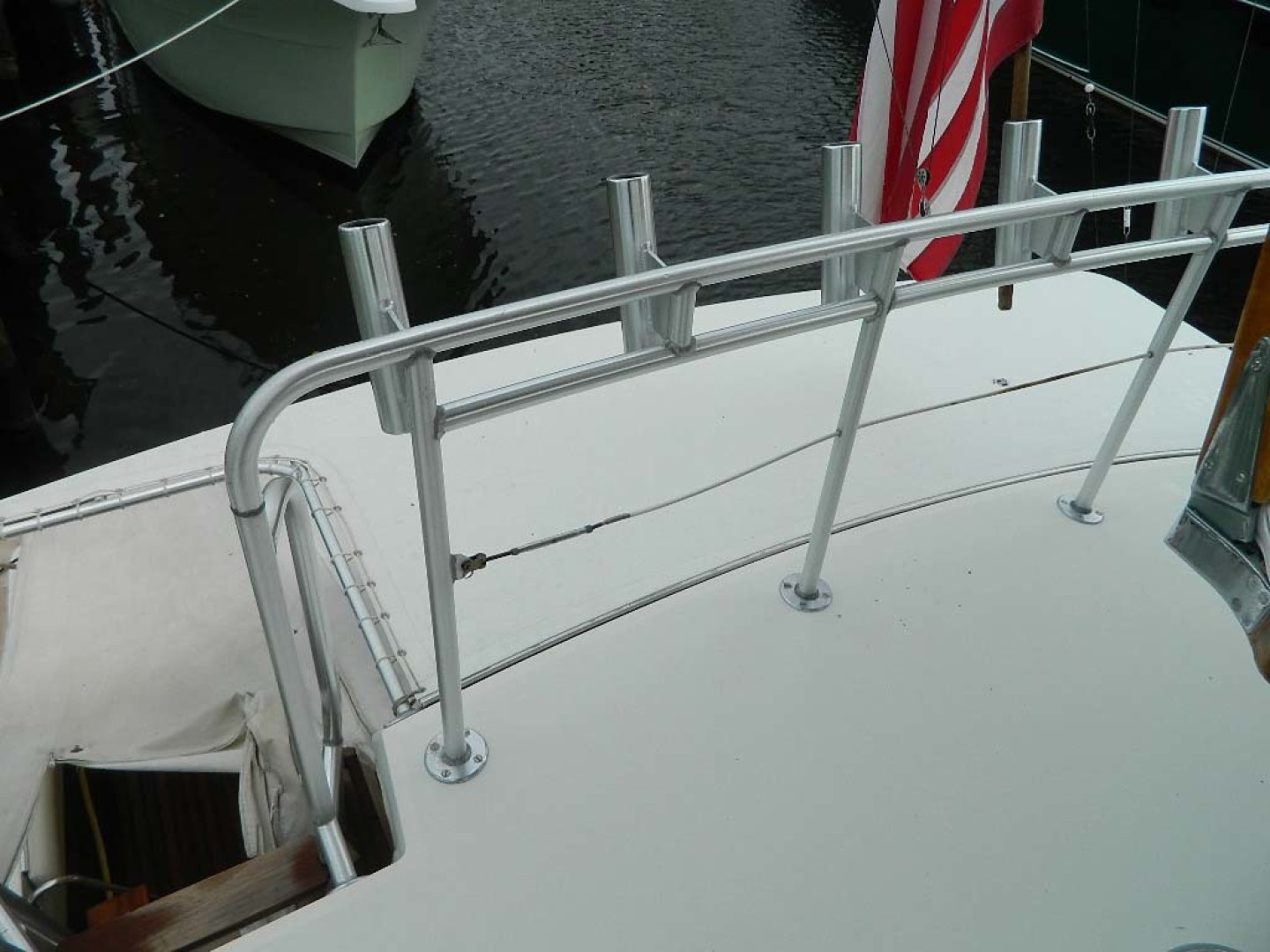 Hatteras-52 Sport Fisherman 1988-Iron Will Stuart-Florida-United States-Rod Holders-1251606 | Thumbnail