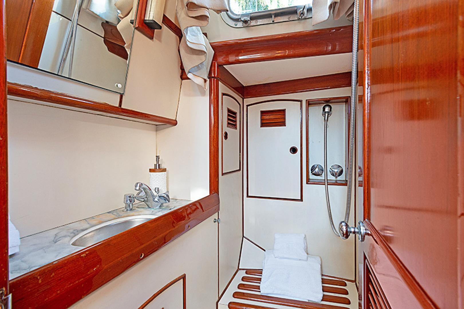 Little Harbor-Raised Saloon 1982-WIND WIZARD Fort Lauderdale-Florida-United States-Master Bath-1264265 | Thumbnail