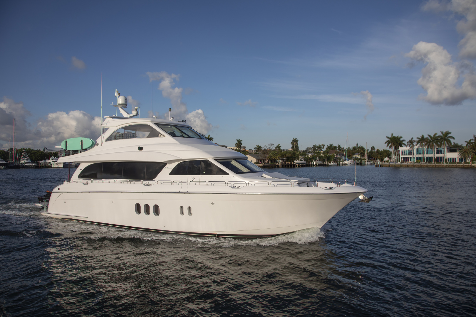 Picture Of: 73' Hatteras 72 2008 Yacht For Sale | 1 of 21