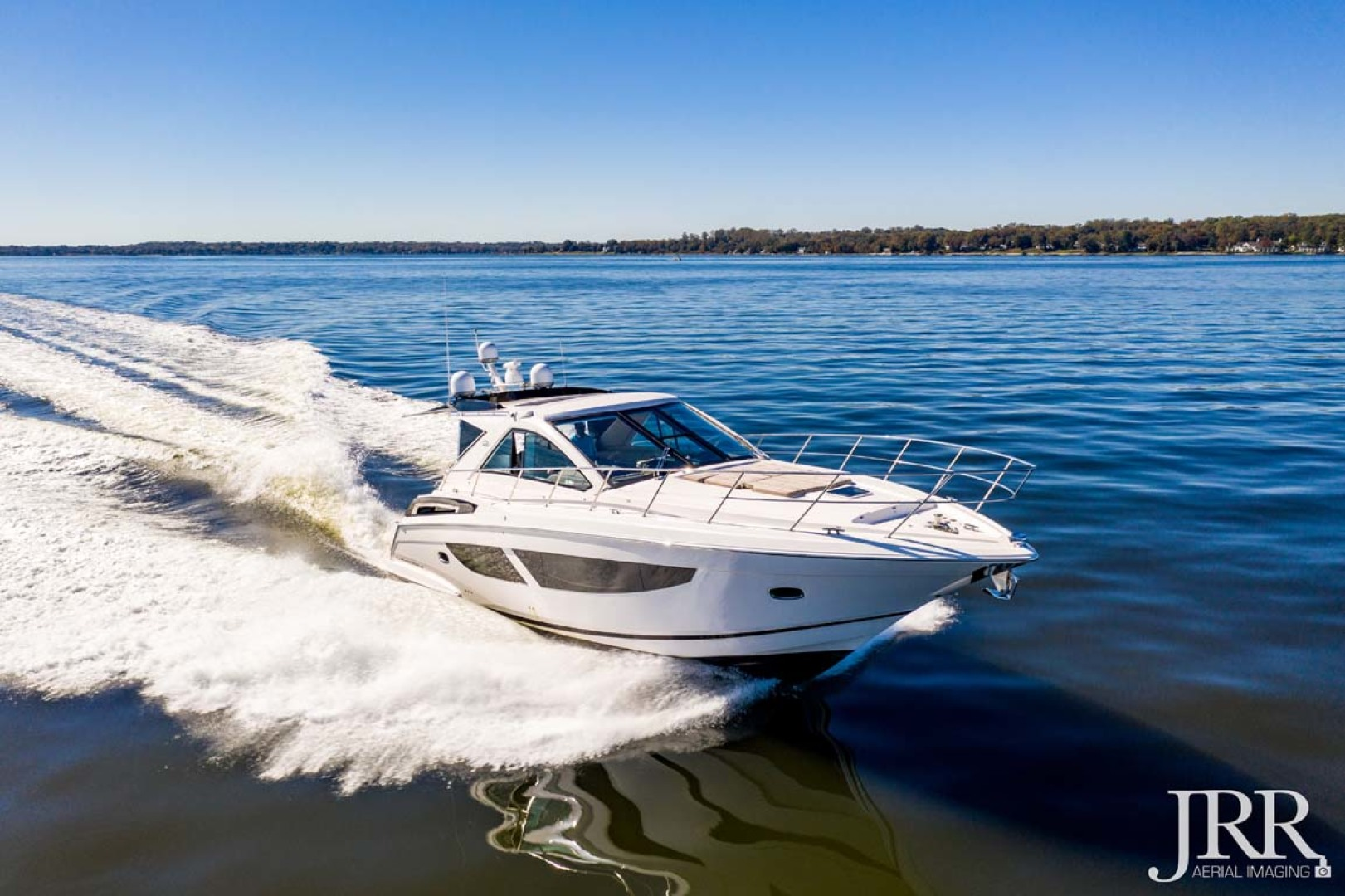 Regal-53 Sport Coupe 2017-LOOKING UP Pasadena-Maryland-United States-Starboard Bow-1253664 | Thumbnail
