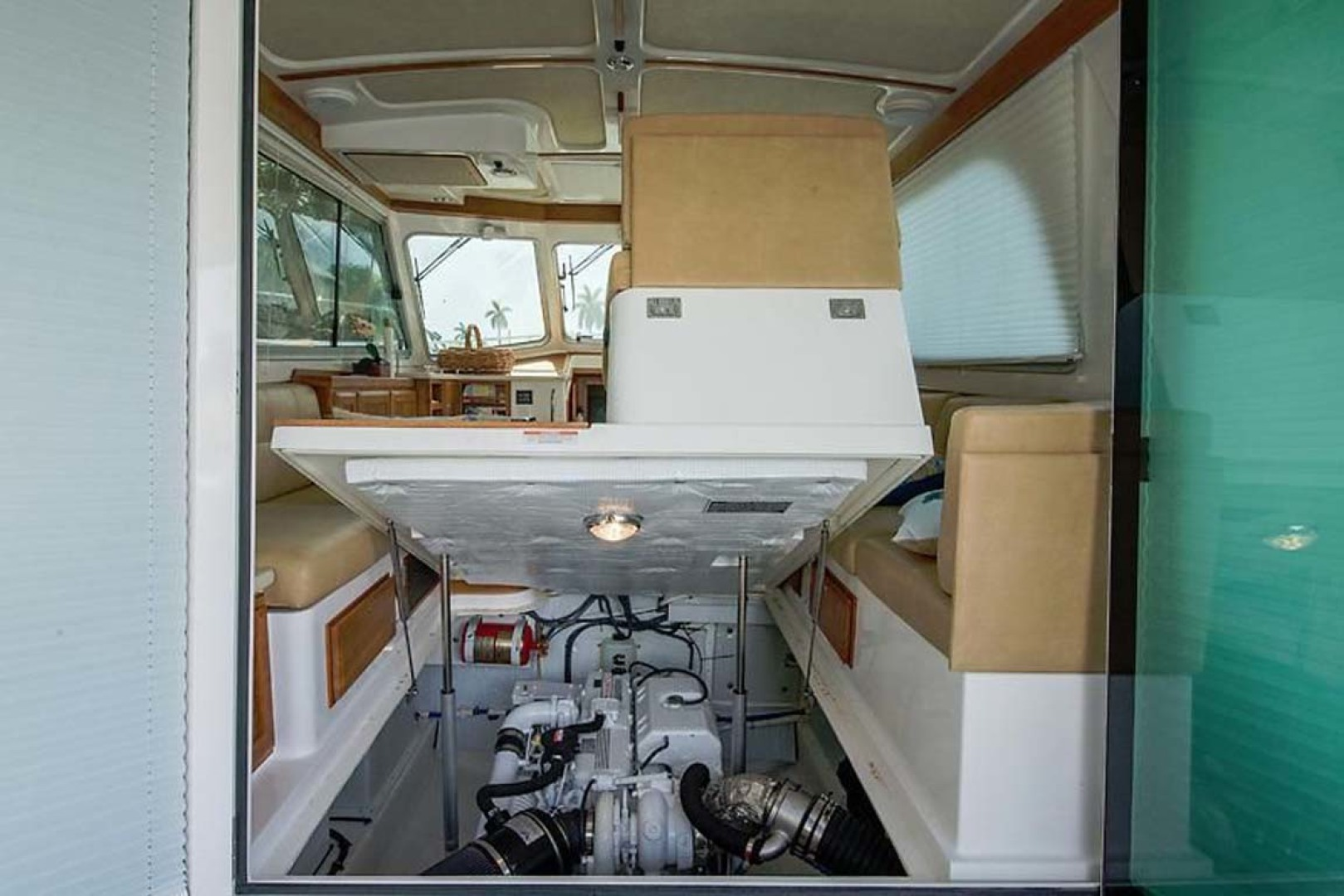 Back Cove-37 Classic 2013-Current Adventure Stuart-Florida-United States-Engine Compartment-1254456 | Thumbnail