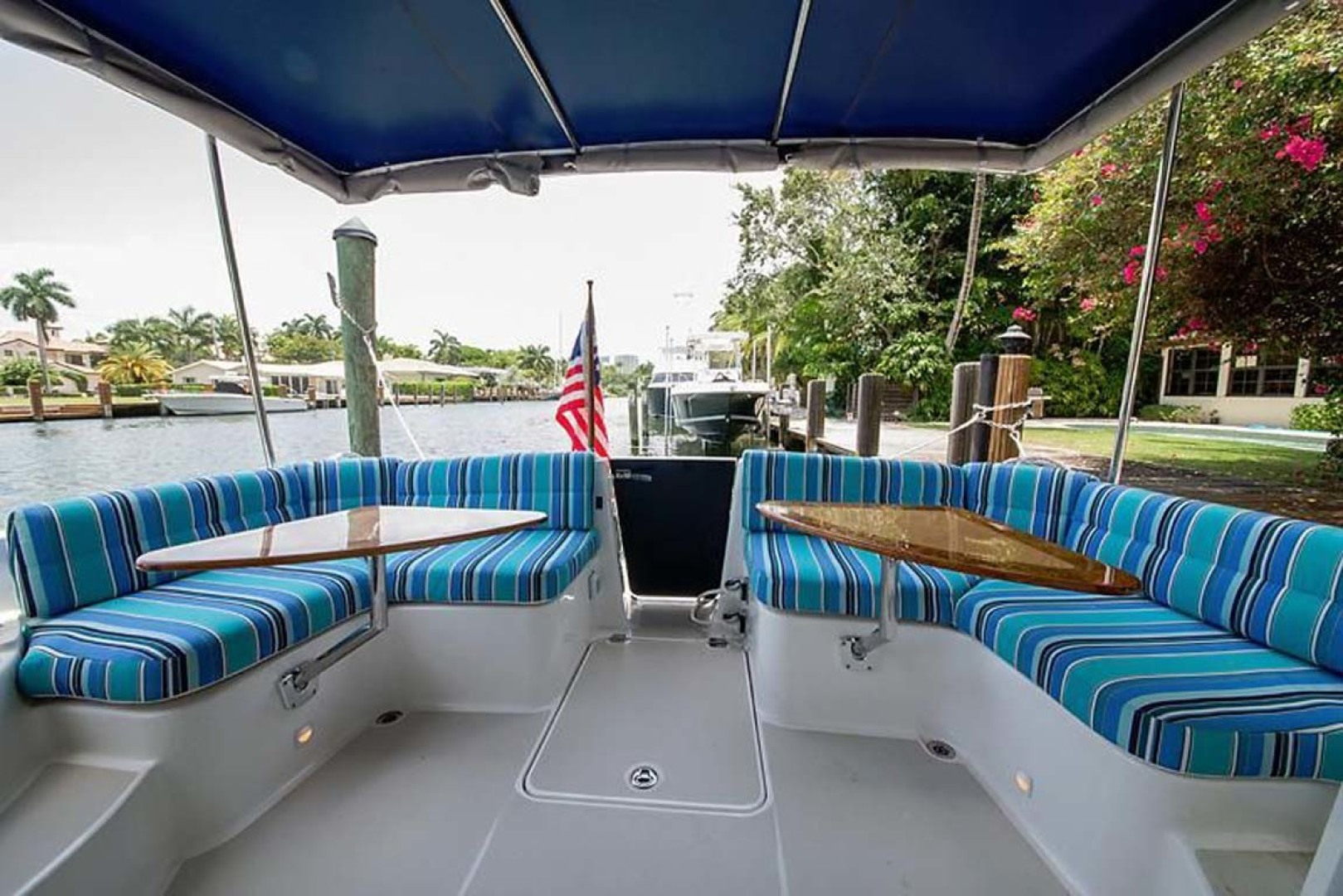 Back Cove-37 Classic 2013-Current Adventure Stuart-Florida-United States-Looking Aft From Salon-1254438 | Thumbnail