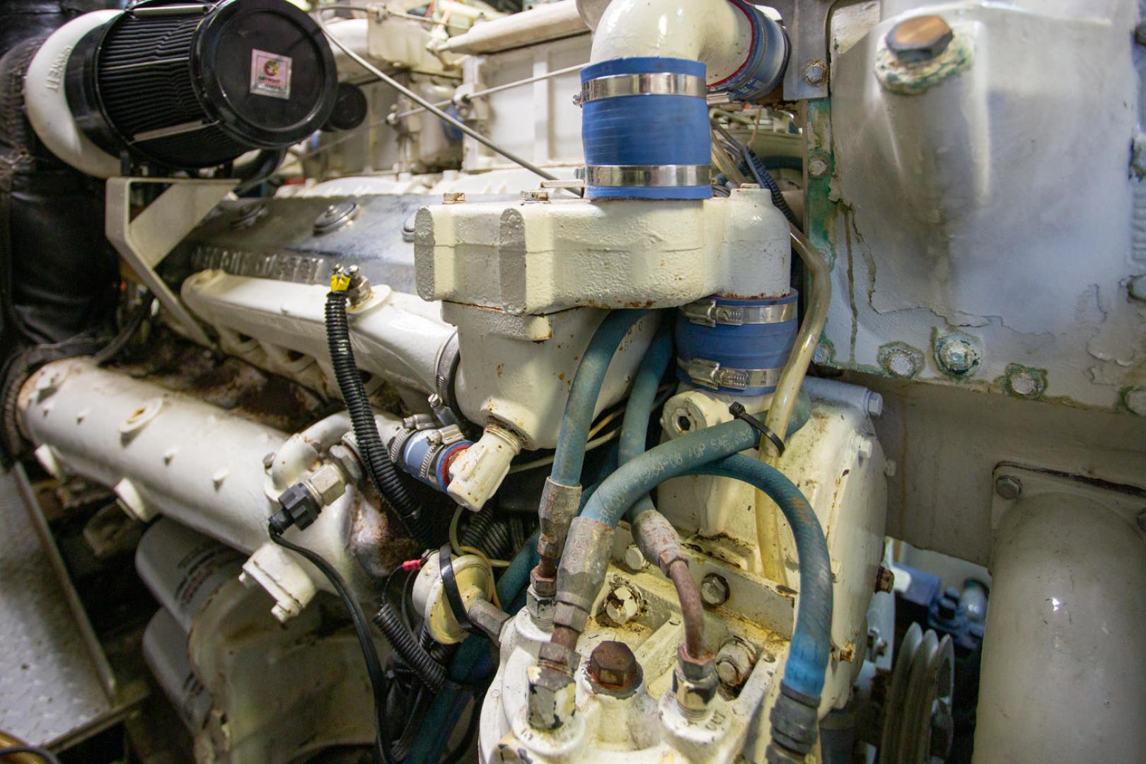 Burger-81 CPMY 1978-High Mileage Cape Coral-Florida-United States-Engine Room-1254598   Thumbnail