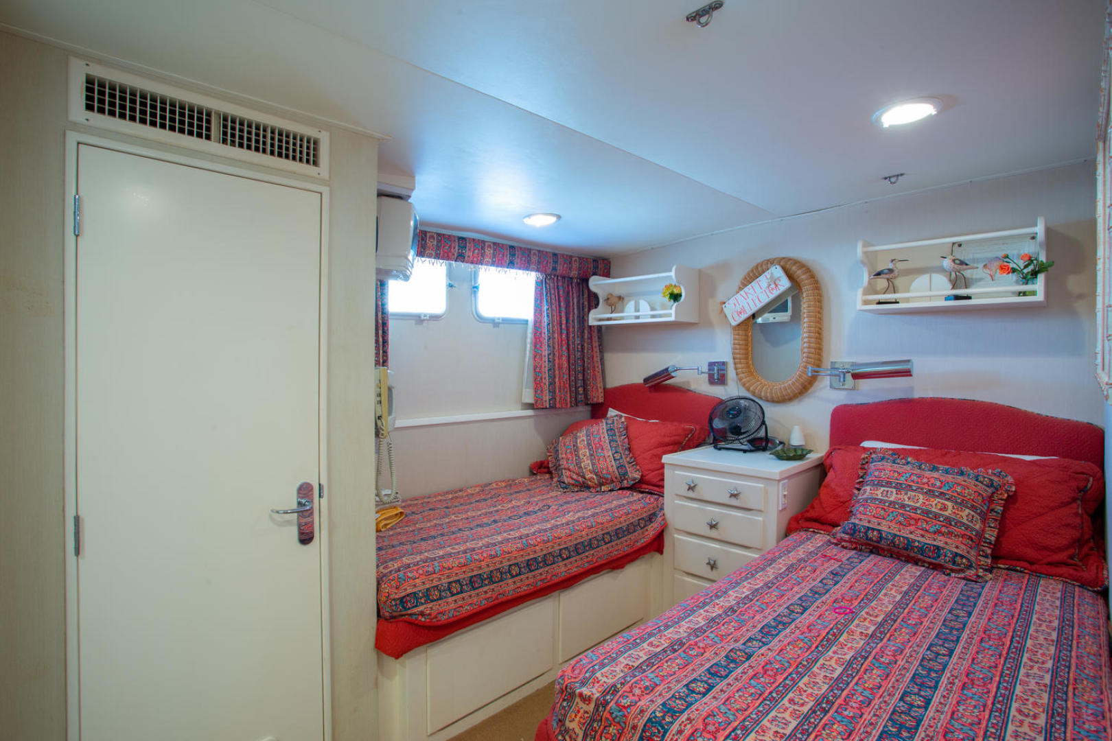 Burger-81 CPMY 1978-High Mileage Cape Coral-Florida-United States-Guest Stateroom-1254539   Thumbnail