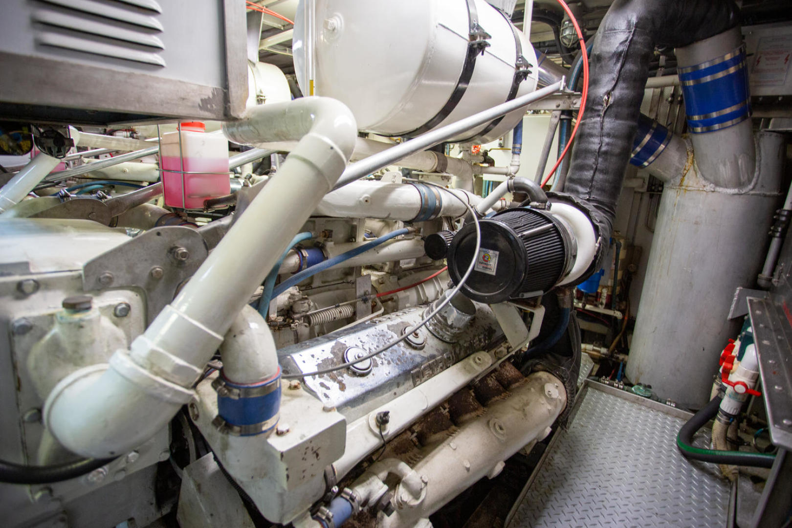 Burger-81 CPMY 1978-High Mileage Cape Coral-Florida-United States-Engine Room-1254594   Thumbnail