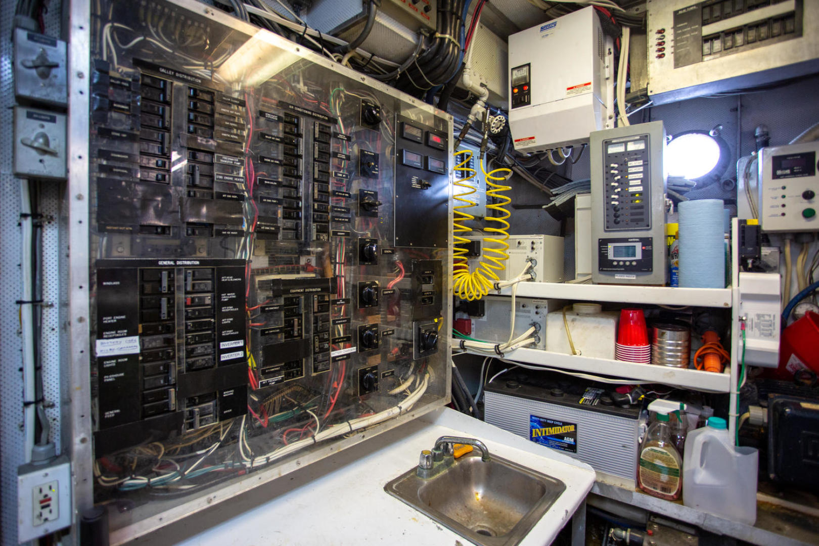 Burger-81 CPMY 1978-High Mileage Cape Coral-Florida-United States-Engine Room-1254603   Thumbnail