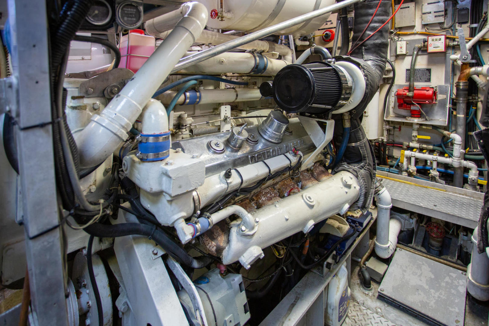 Burger-81 CPMY 1978-High Mileage Cape Coral-Florida-United States-Engine Room-1254597   Thumbnail