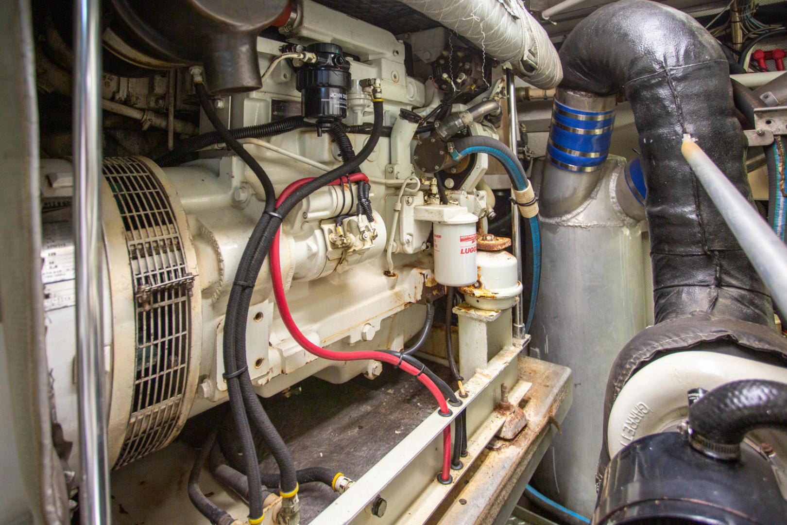 Burger-81 CPMY 1978-High Mileage Cape Coral-Florida-United States-Engine Room-1254599   Thumbnail