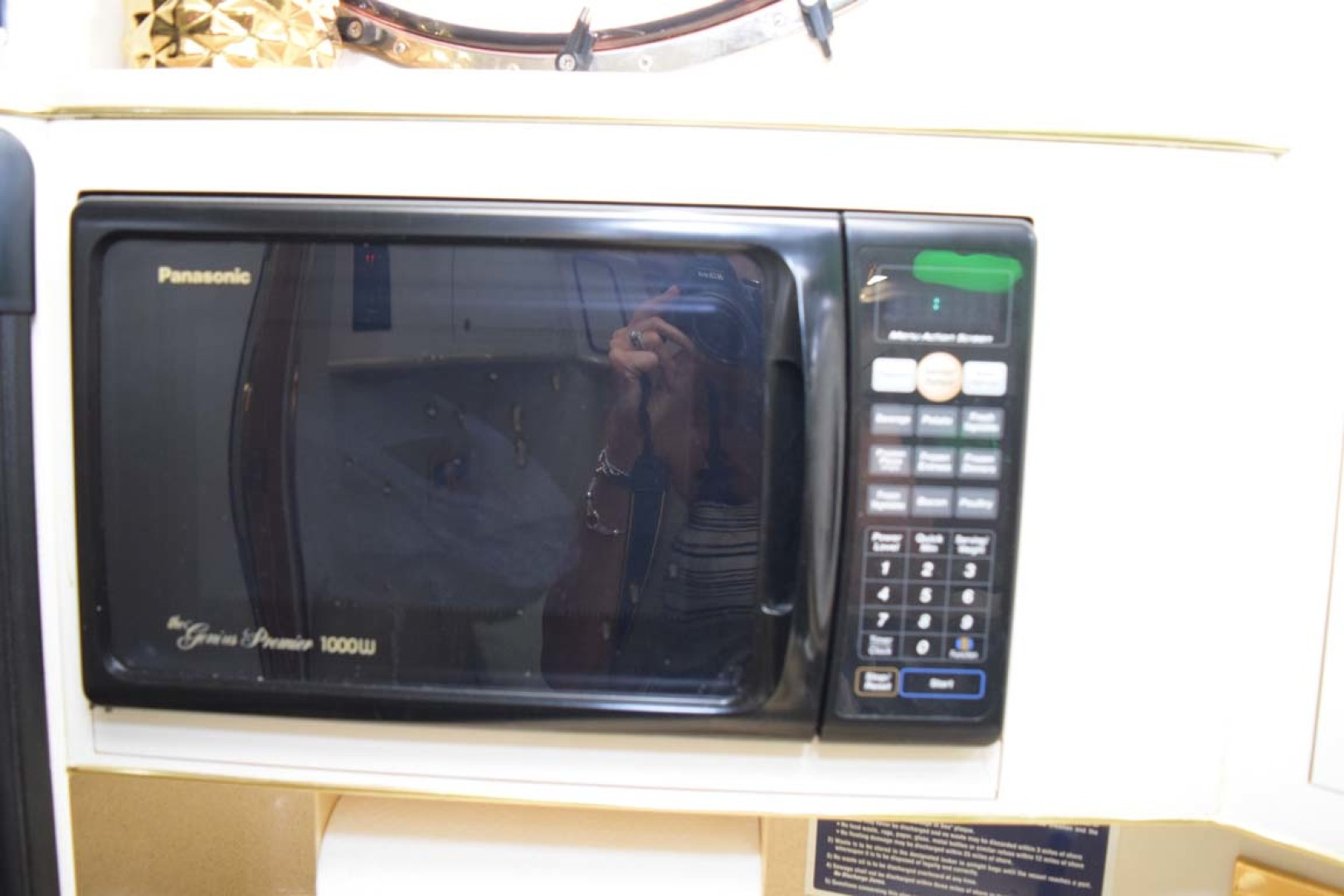 Sea Ray-400 Sundancer 1998-LEVELS Miami-Florida-United States-Galley Microwave-1283894 | Thumbnail