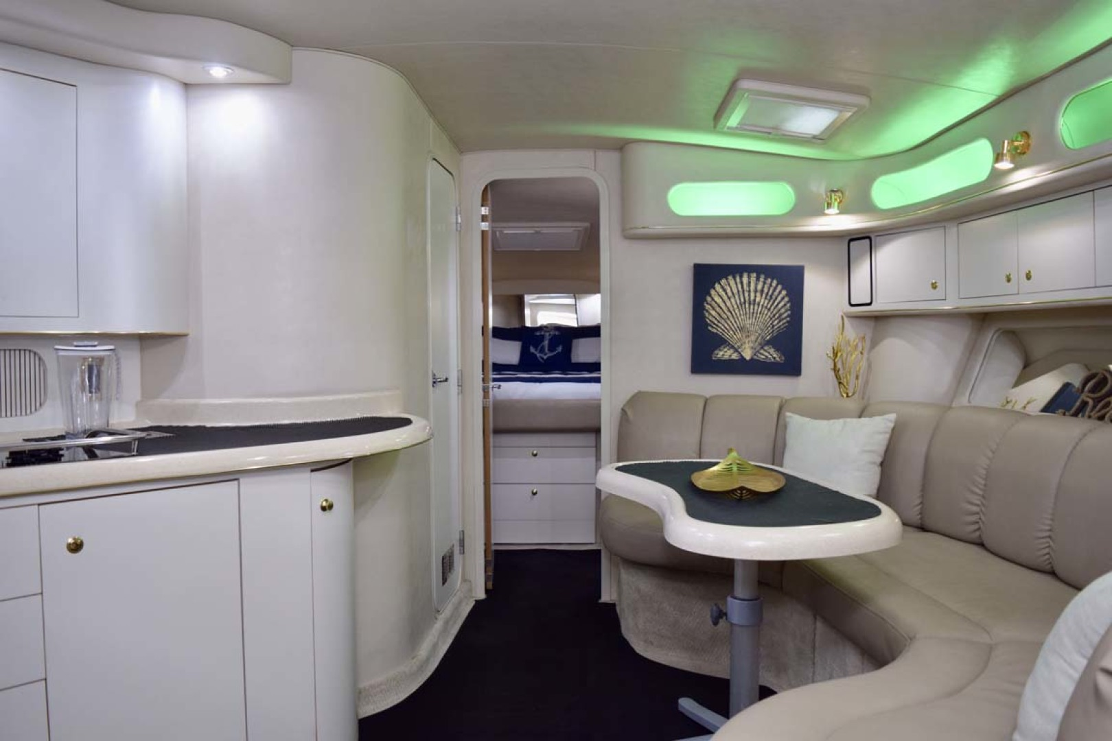 Sea Ray-400 Sundancer 1998-LEVELS Miami-Florida-United States-Salon And Galley-1283885 | Thumbnail