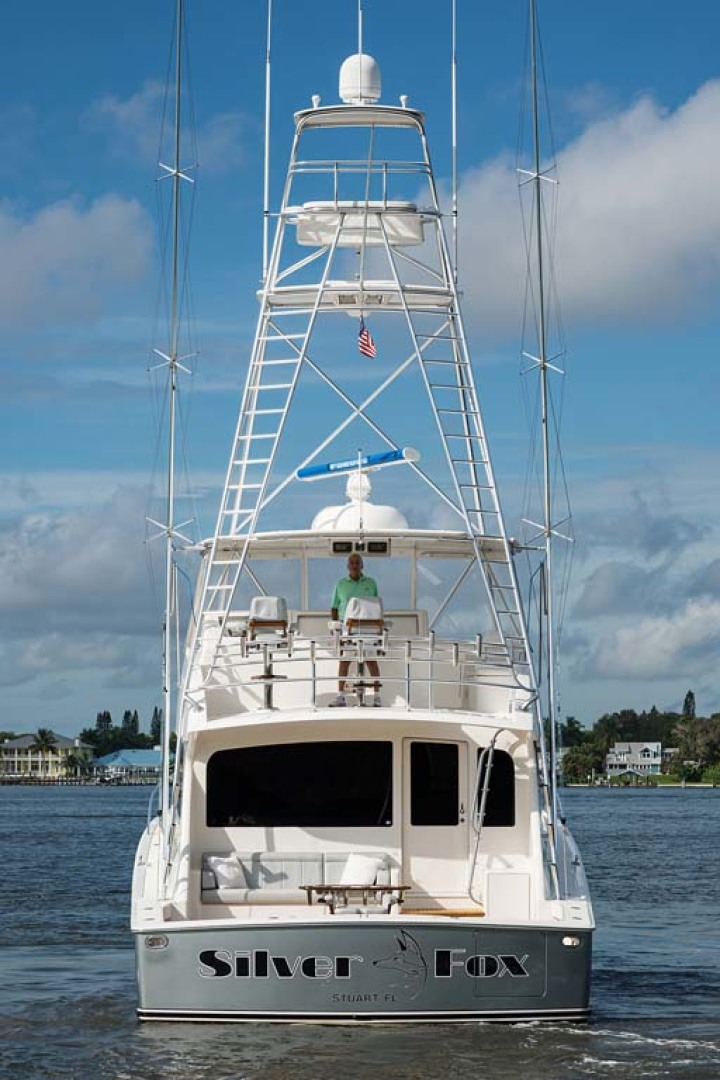 Viking-Sportfish 2007-Silver Fox Stuart-Florida-United States-Silver Metallic Color Hull-1255896   Thumbnail