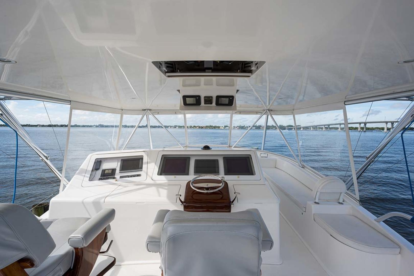 Viking-Sportfish 2007-Silver Fox Stuart-Florida-United States-Release Teak Helm Pod-1255867   Thumbnail