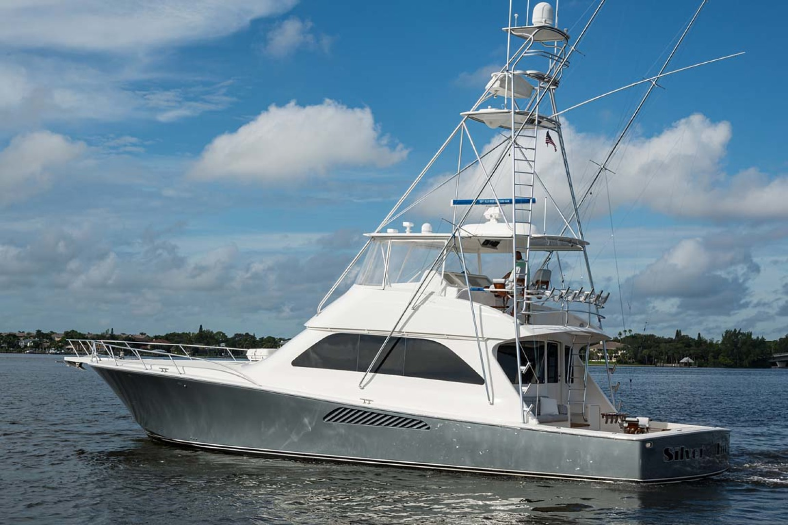 Viking-Sportfish 2007-Silver Fox Stuart-Florida-United States-Port View-1255895   Thumbnail