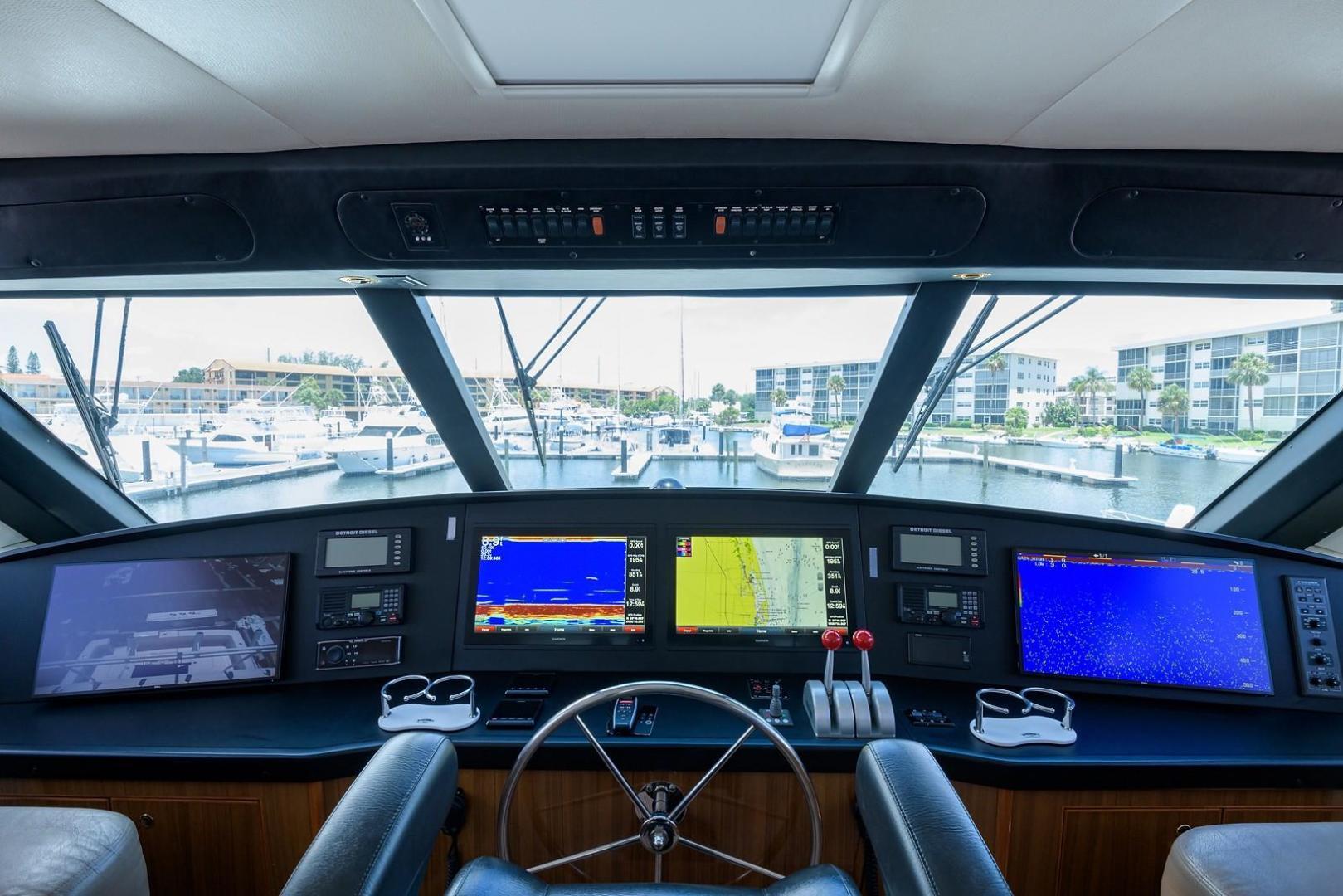 Viking-61 Enclosed Bridge Convertible 2005-Ya Ya Ya North Palm Beach-Florida-United States-1258070 | Thumbnail