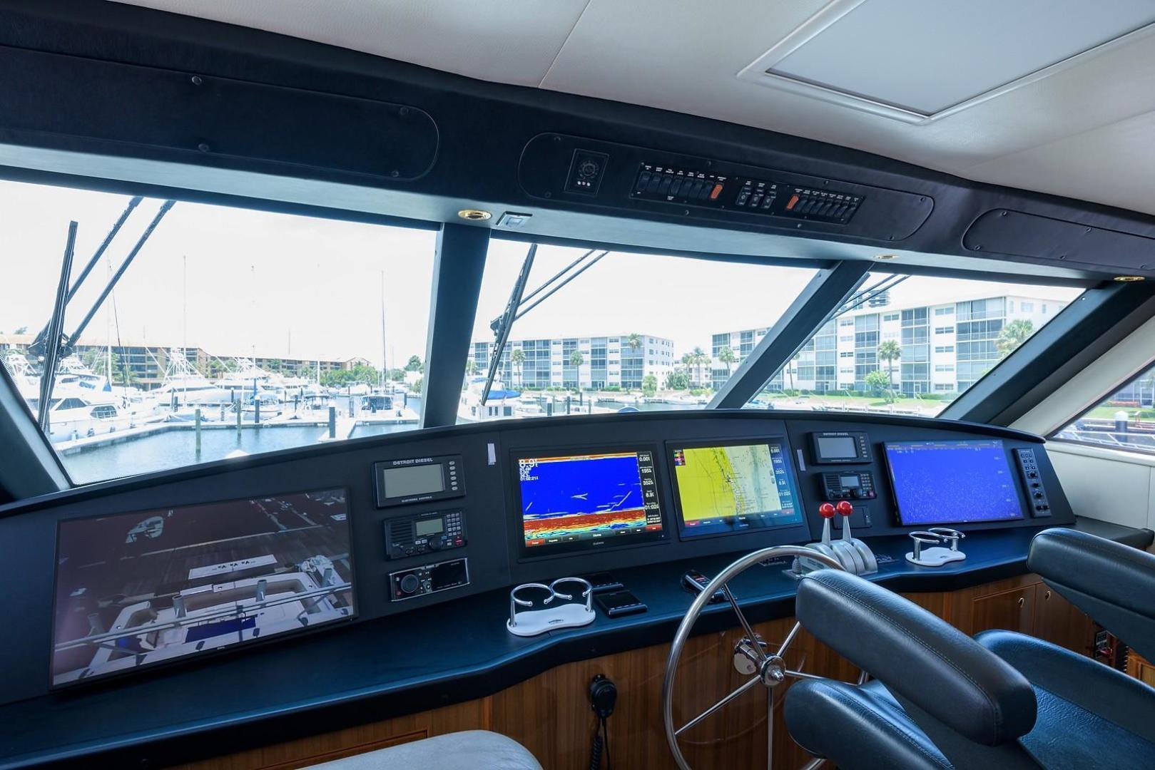 Viking-61 Enclosed Bridge Convertible 2005-Ya Ya Ya North Palm Beach-Florida-United States-1258069 | Thumbnail