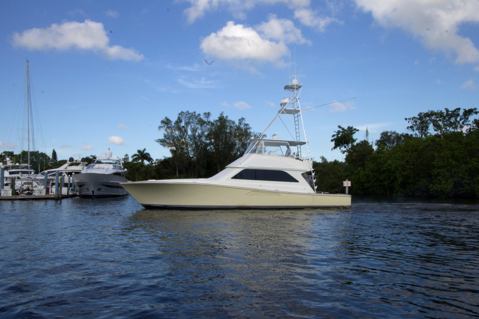 Picture Of: 55' Viking Total Top Ends Rebuilt 1998 Yacht For Sale | 2 of 51