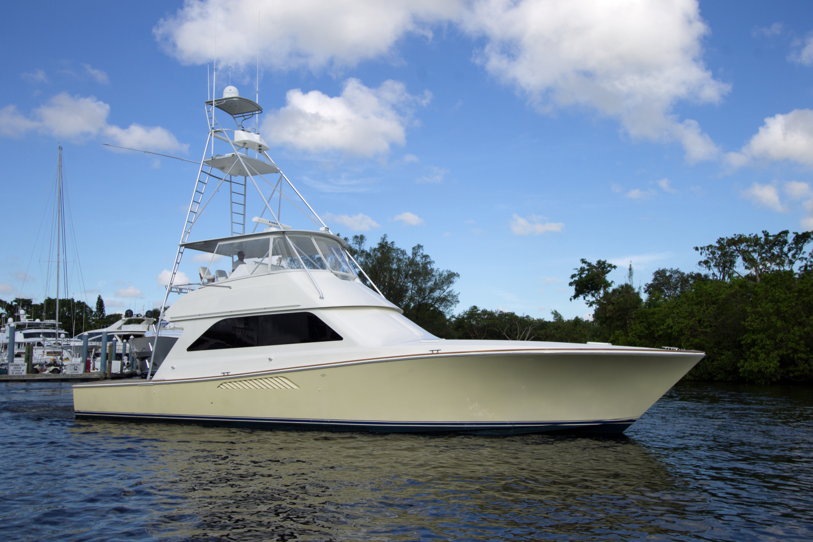 Picture Of: 55' Viking Total Top Ends Rebuilt 1998 Yacht For Sale | 1 of 51