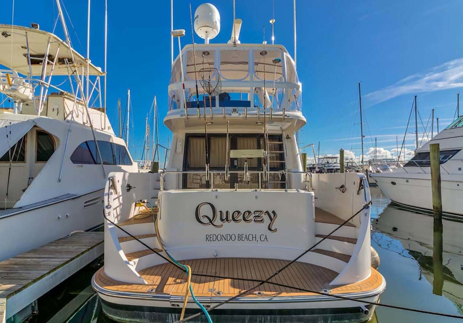 Ocean Alexander-500 Sports Sedan 1998-Queezy Fort Pierce-Florida-United States-Aft View-1261604 | Thumbnail