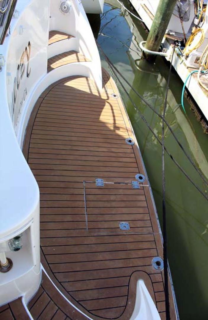 Ocean Alexander-500 Sports Sedan 1998-Queezy Fort Pierce-Florida-United States-Swim Platform-1261594 | Thumbnail