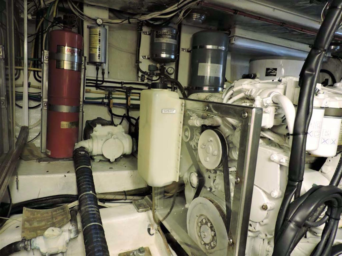 Ocean Alexander-500 Sports Sedan 1998-Queezy Fort Pierce-Florida-United States-Engine Room Starboard-1261599 | Thumbnail