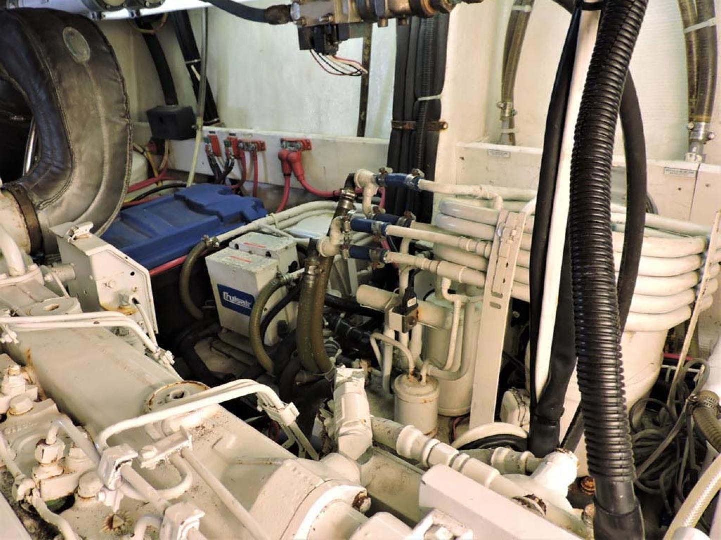 Ocean Alexander-500 Sports Sedan 1998-Queezy Fort Pierce-Florida-United States-Engine Room Port-1261598 | Thumbnail