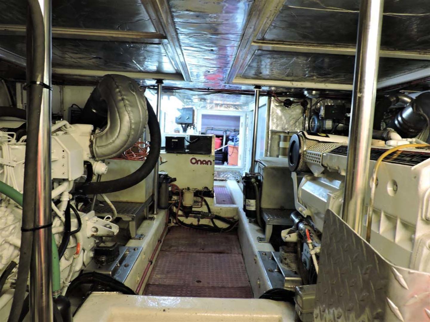 Ocean Alexander-500 Sports Sedan 1998-Queezy Fort Pierce-Florida-United States-Engine Room-1261597 | Thumbnail