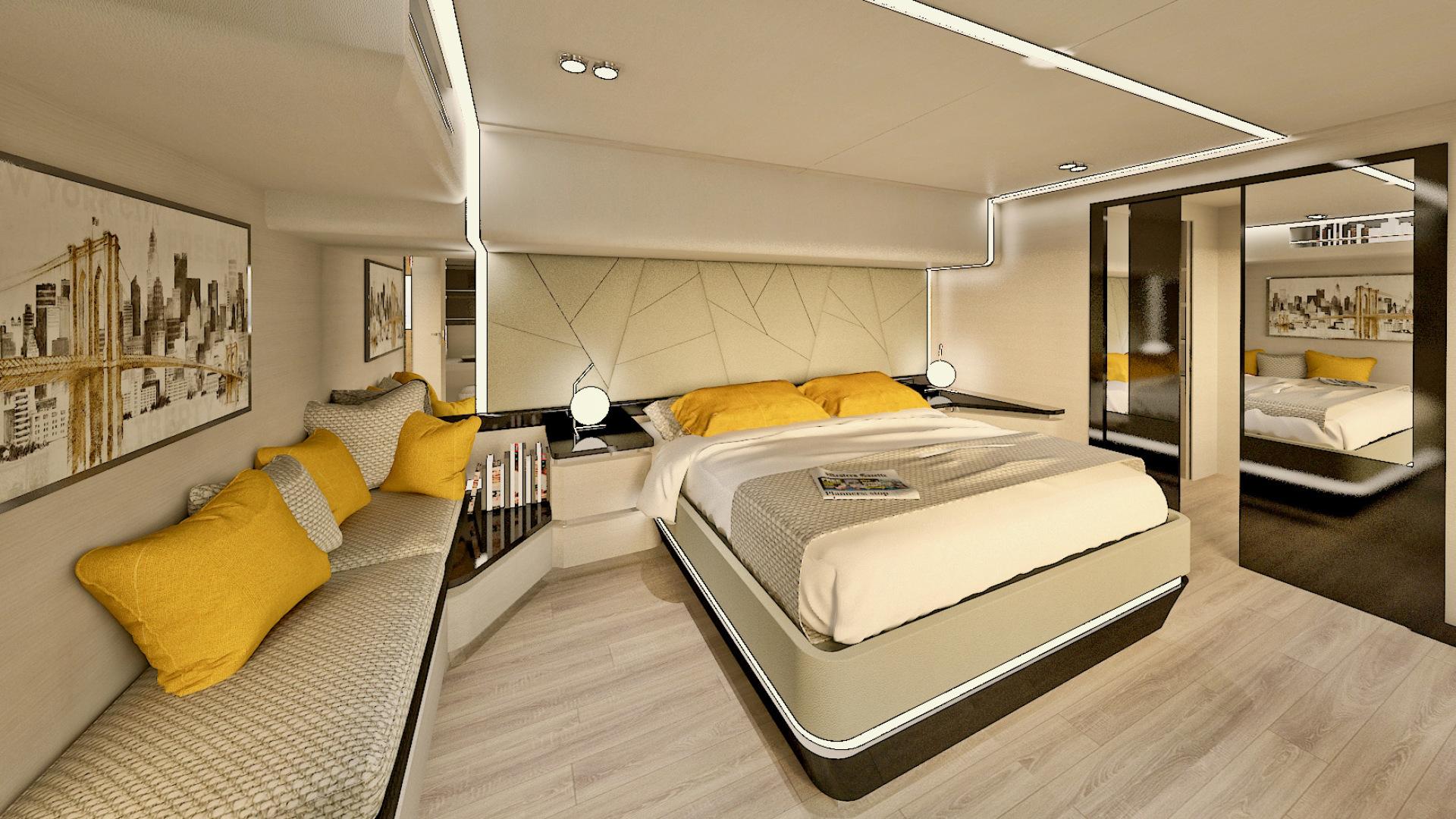 Silent-Yachts-Silent 80  2020-SILENT 80 Ancona-Italy-Master Stateroom-1262446 | Thumbnail