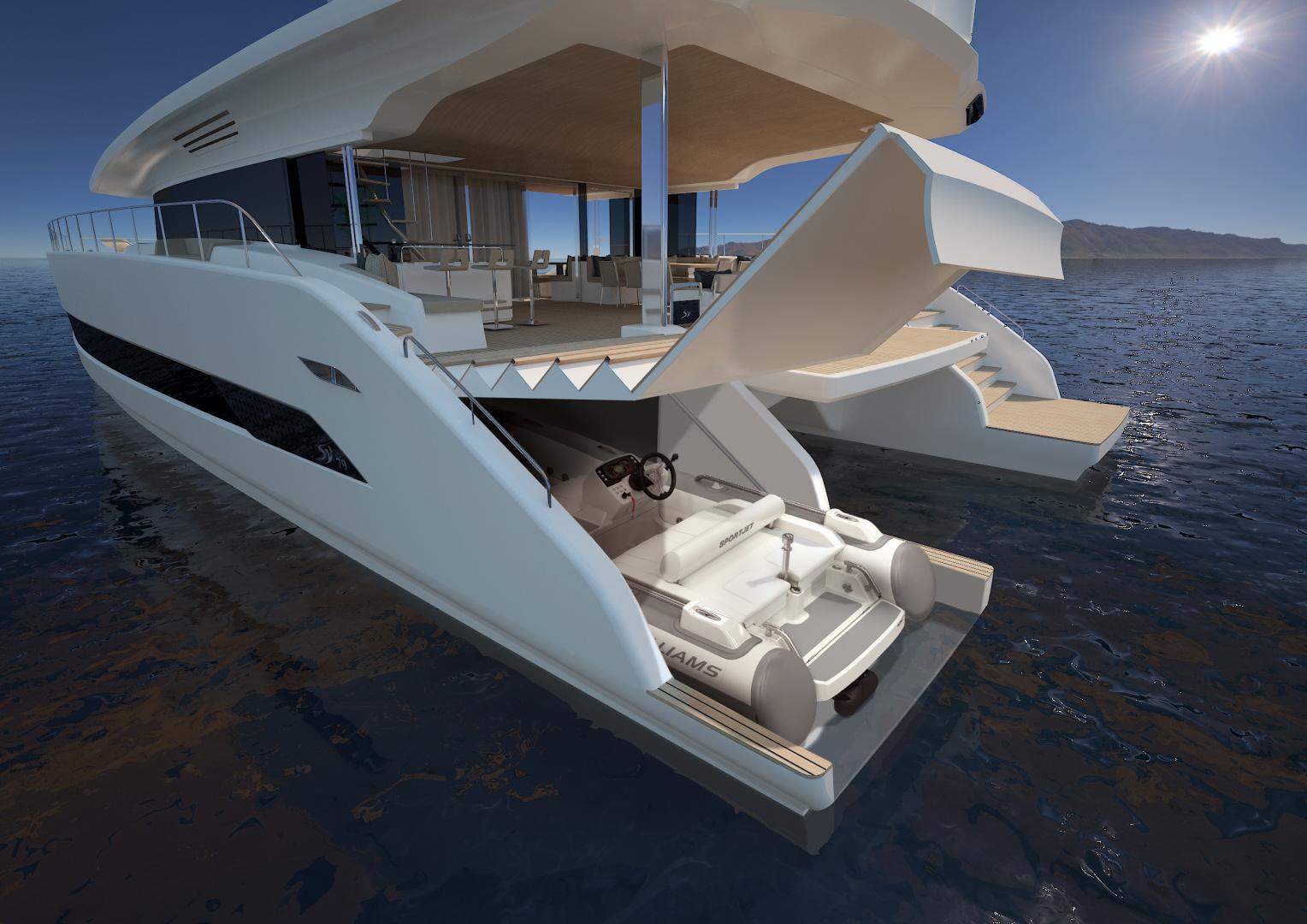 Silent-Yachts-Silent 80  2020-SILENT 80 Ancona-Italy-Lazzarette storage-1262441 | Thumbnail