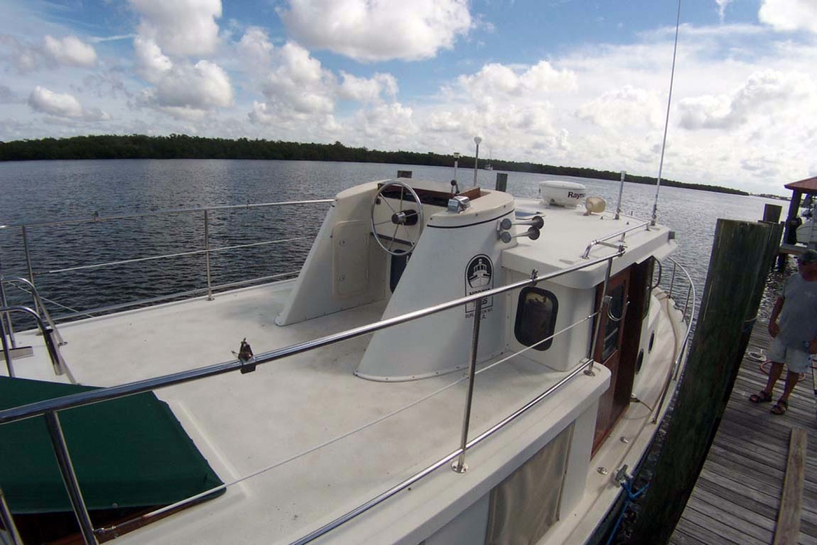 Nordic Tugs-32 with Upper Station 1997-Adriana Fort Myers Beach-Florida-United States-Flybridge Helm Aft-1266852 | Thumbnail