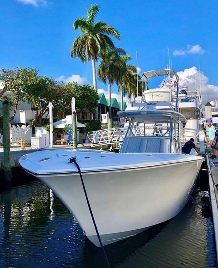 Front Runner-39 Center Console 2021 -Stuart-Florida-United States-Bow View at Dock-1266691 | Thumbnail