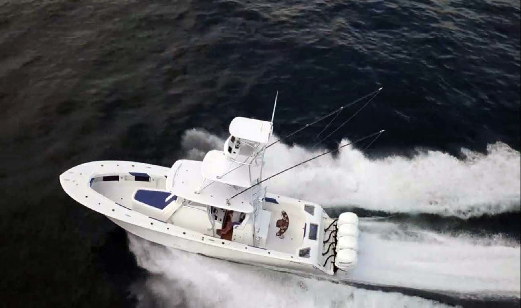 Front Runner-39 Center Console 2021 -Stuart-Florida-United States-Aerial Running View-1266686 | Thumbnail