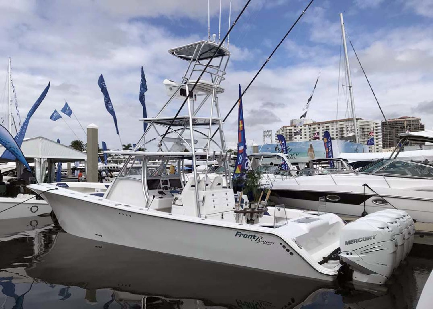 Front Runner-39 Center Console 2021 -Stuart-Florida-United States-Port View-1266685 | Thumbnail