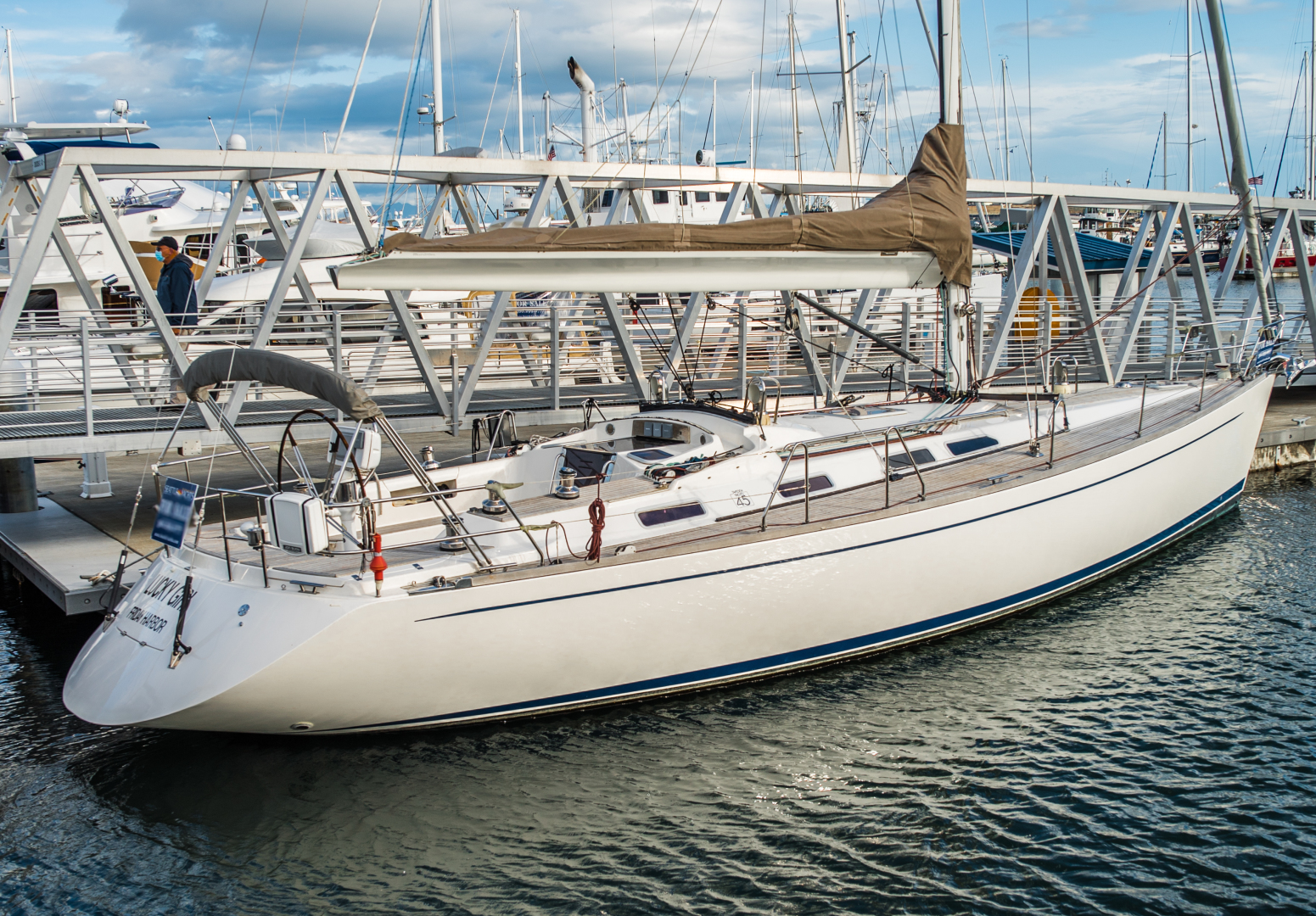 Picture Of: 45' Sweden Yachts 45 2005 Yacht For Sale   1 of 43