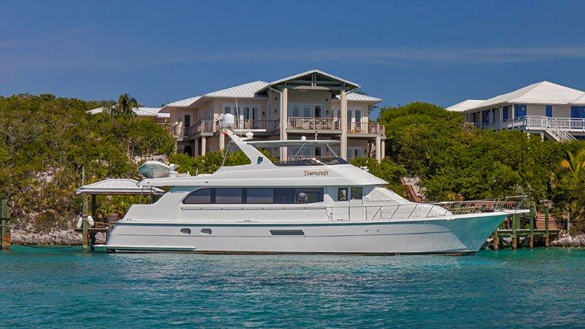 Picture Of: 75' Hatteras Sport Deck 2004 Yacht For Sale | 1 of 15
