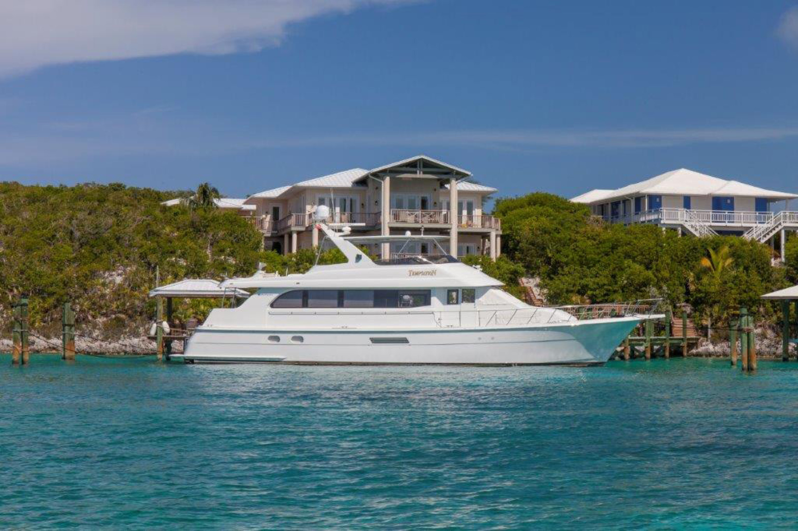 Picture Of: 75' Hatteras Sport Deck 2004 Yacht For Sale | 1 of 24