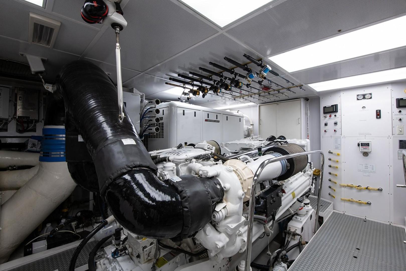 Westport-Motoryacht 2010-Cavallino Fort Lauderdale-Florida-United States-Engine Room-1270080 | Thumbnail