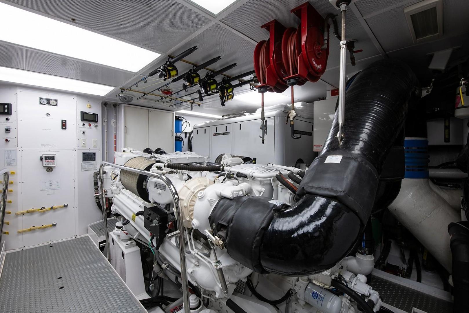 Westport-Motoryacht 2010-Cavallino Fort Lauderdale-Florida-United States-Engine Room-1270081 | Thumbnail