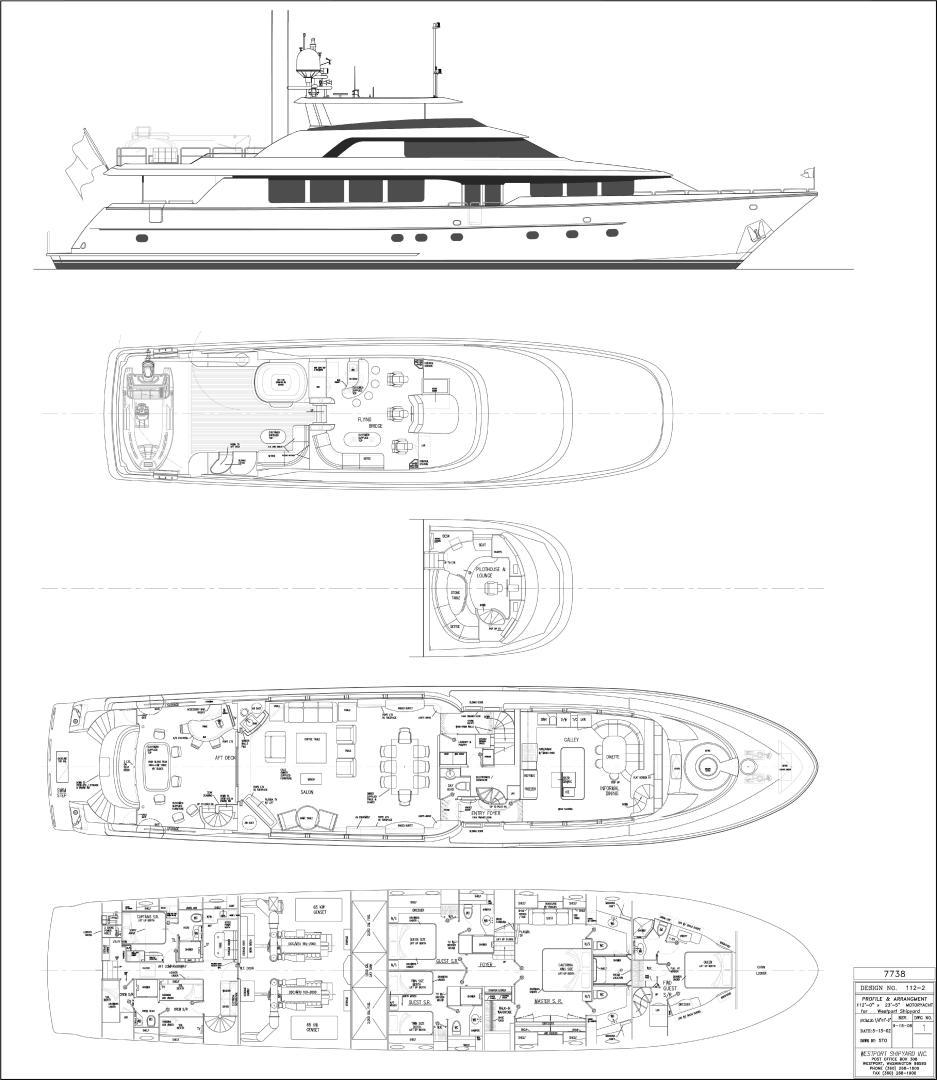 Westport-Motoryacht 2010-Cavallino Fort Lauderdale-Florida-United States-Deck Plans-1270045 | Thumbnail