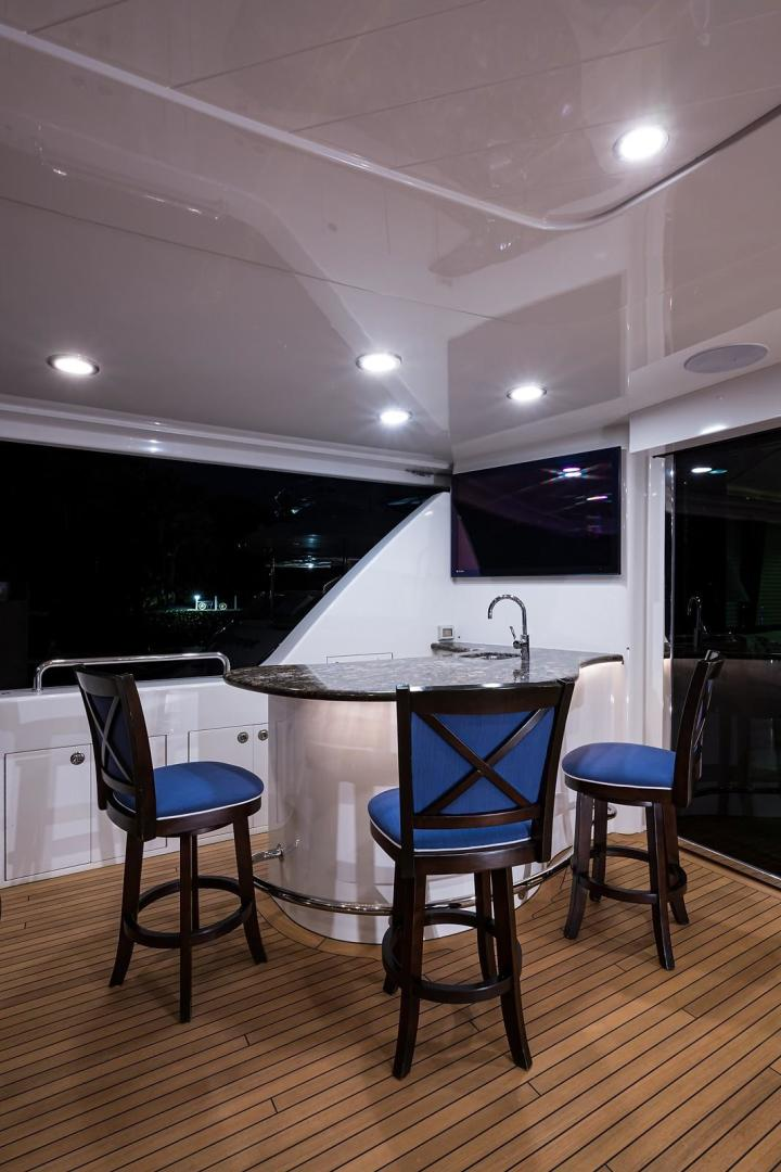 Westport-Motoryacht 2010-Cavallino Fort Lauderdale-Florida-United States-Aft Deck Bar-1270044 | Thumbnail