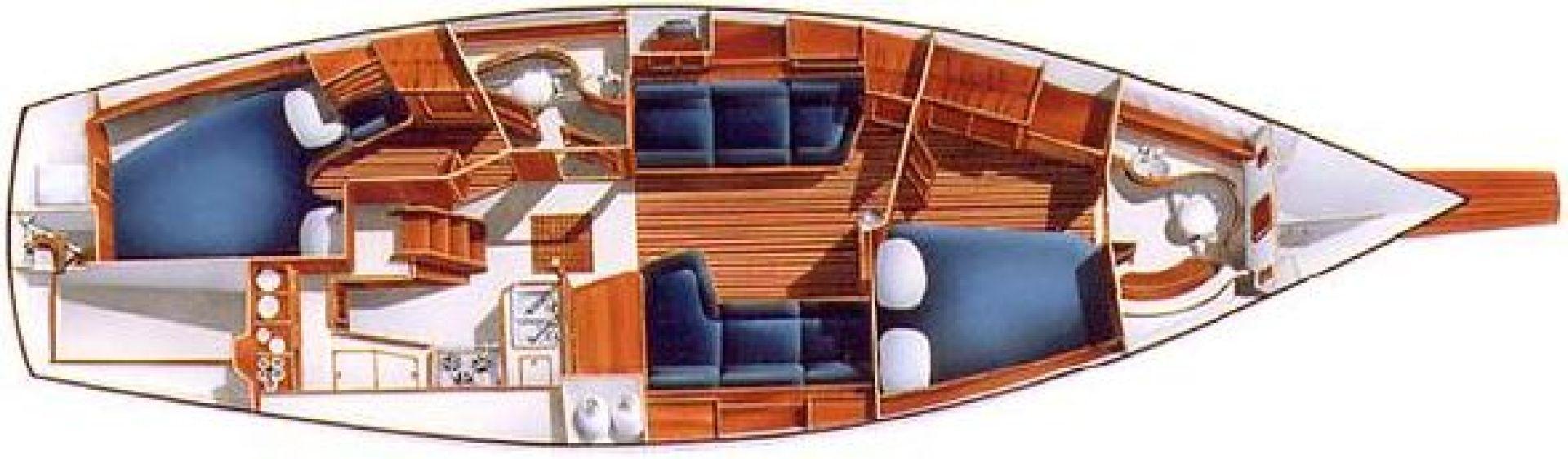 Island Packet 1994-ROBINSONG Punta Gorda-Florida-United States-1270931 | Thumbnail