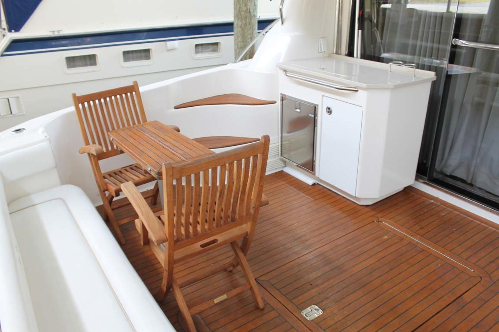 Sea Ray-58 Sedan Bridge 2008-ANANDI Chesapeake City-Maryland-United States-Cockpit Seating-1274132 | Thumbnail