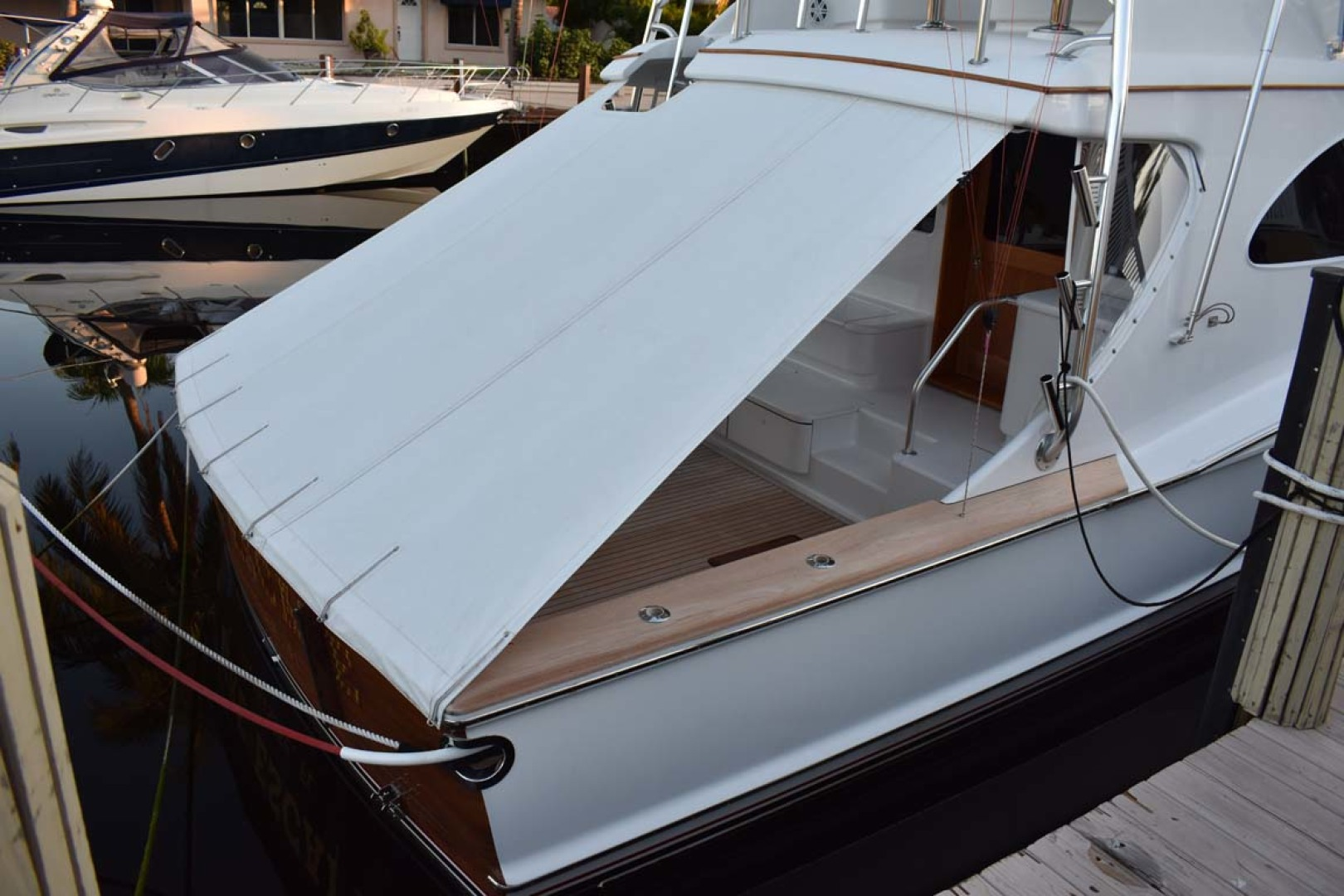Spencer-Sportfish 2013-Fire Escape Pompano Beach-Florida-United States-Cockpit Cover-1274299 | Thumbnail