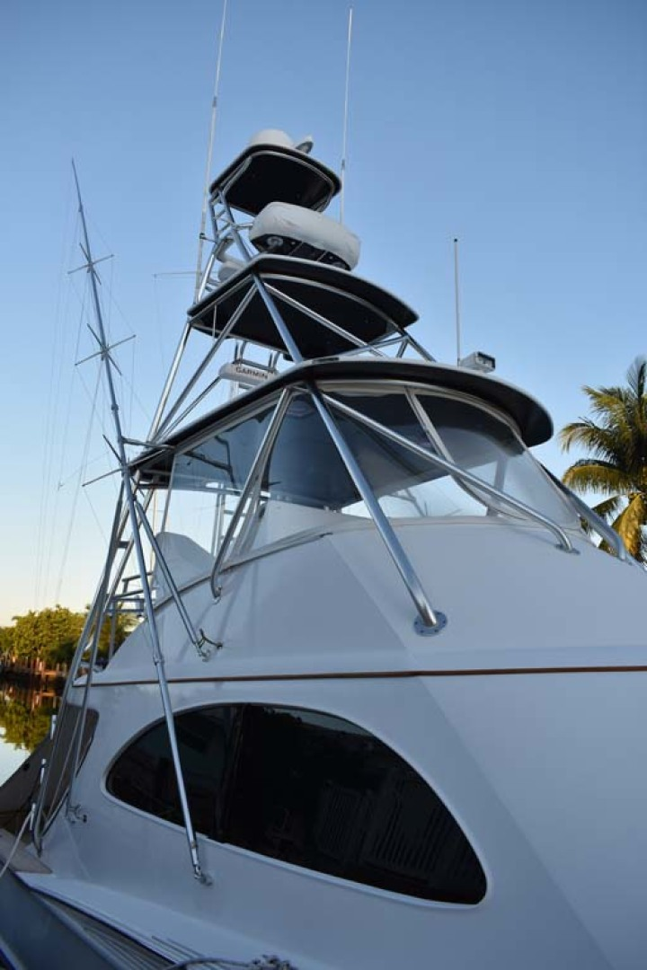 Spencer-Sportfish 2013-Fire Escape Pompano Beach-Florida-United States-Stbd View of Tower-1274285 | Thumbnail