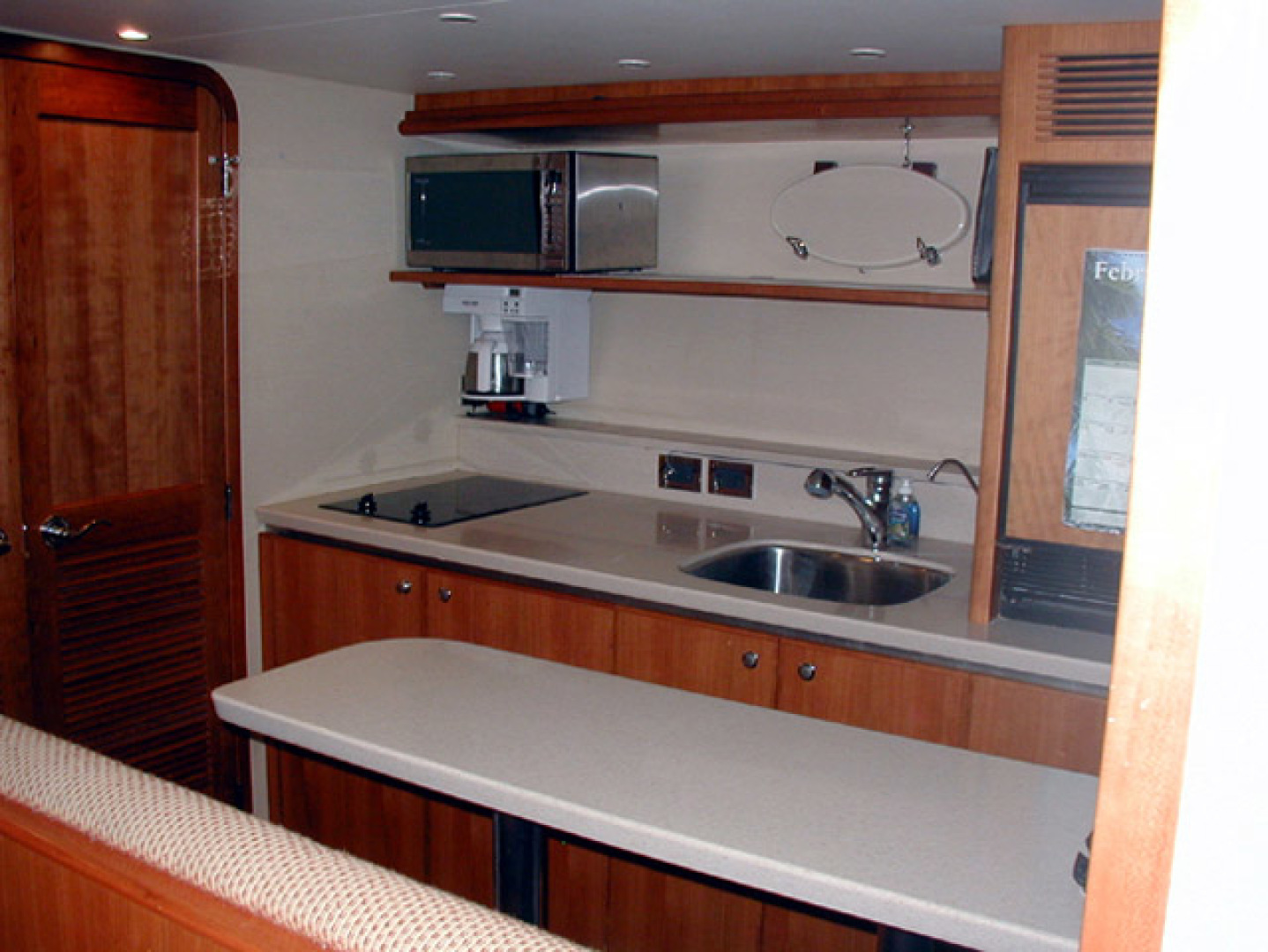 West Bay-Custom Enclosed Bridge 2005-Dream Weaver North Palm Beach-Florida-United States-Lower Galley-1276211 | Thumbnail