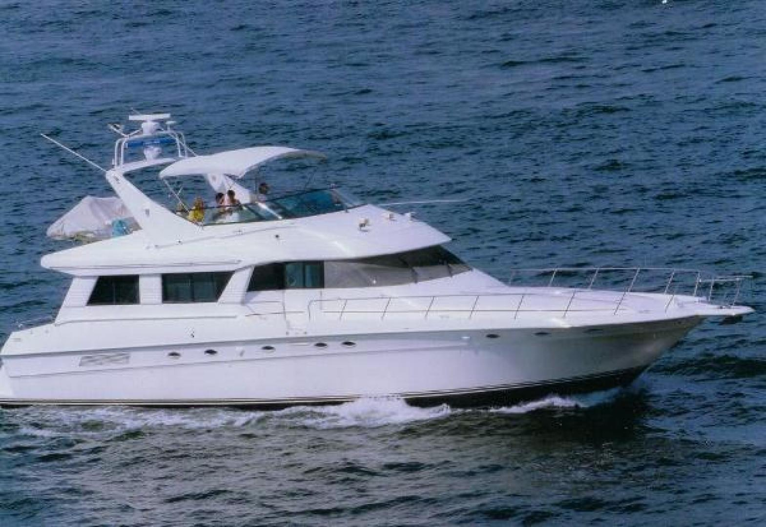 Picture Of: 65' Sea Ray 650 Cockpit Motor Yacht 1994 Yacht For Sale | 2 of 22