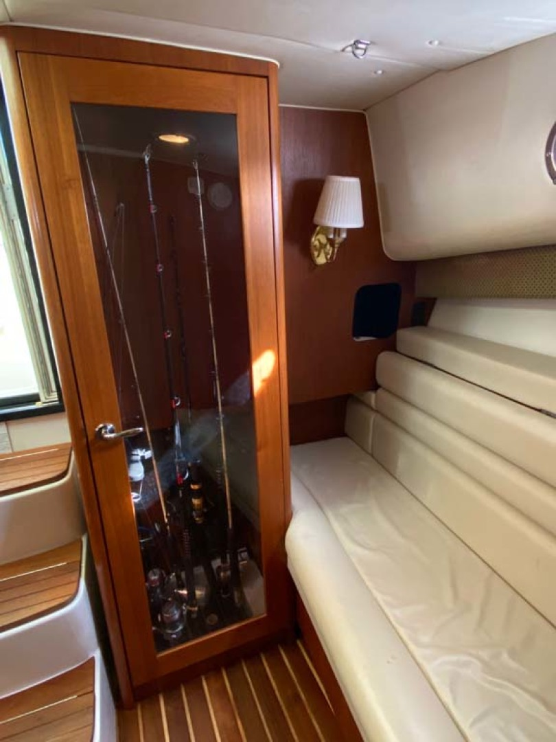 Pursuit-3800 Express 2002-Going Deep Destin-Florida-United States-Rod Storage And Port Settee-1276689 | Thumbnail