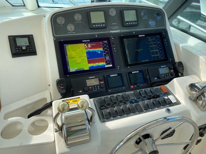 Pursuit-3800 Express 2002-Going Deep Destin-Florida-United States-Helm Electronics-1276708 | Thumbnail