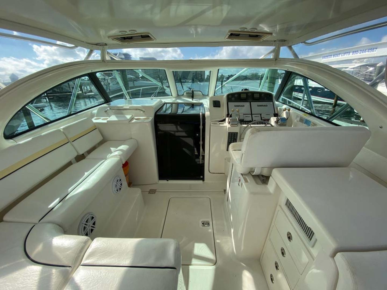 Pursuit-3800 Express 2002-Going Deep Destin-Florida-United States-Helm Deck-1276710 | Thumbnail