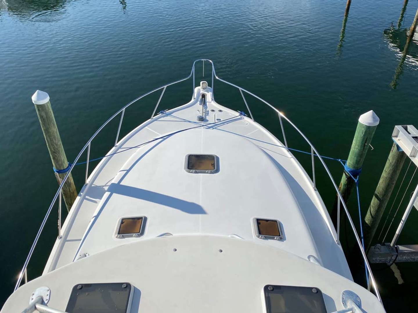 Pursuit-3800 Express 2002-Going Deep Destin-Florida-United States-Foredeck From Tower-1276699 | Thumbnail