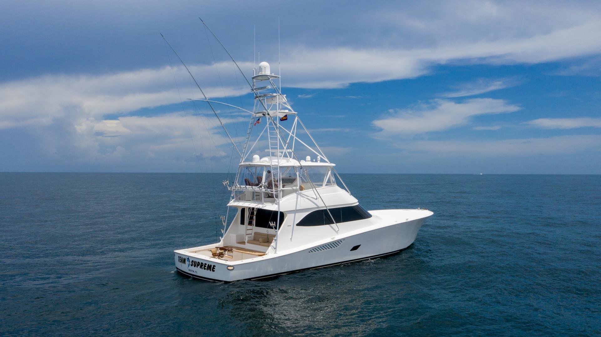 Viking-76 Sportfish 2012-Team Supreme Destin-Florida-United States-2012 Viking 76 SF   Profile Stbd Qtr (4)-1457209 | Thumbnail